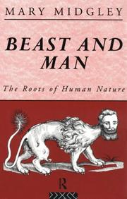 Cover of: Beast and man