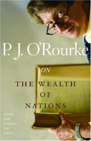 Cover of: On The Wealth of Nations
