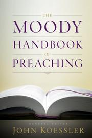 Cover of: The Moody Handbook of Preaching