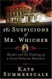 Cover of: The Suspicions of Mr. Whicher | Kate Summerscale
