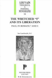 Cover of: The Wretched I & Its Liberation | Jan Lambrecht