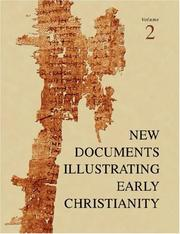 Cover of: A Review of the Greek Inscriptions and Papyri Published in 1977 (New Documents Illustrating Early Christianity) | G., H. R. Horsley