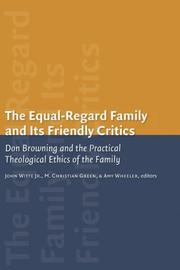 Cover of: The equal regard family and its friendly critics