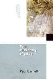 Cover of: Paul, Missionary of Jesus