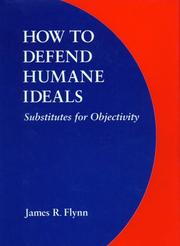 Cover of: How to Defend Humane Ideals