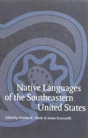 Cover of: Native Languages of the Southeastern United States (Studies in the Anthropology of North Ame) |