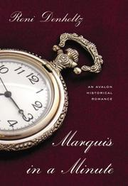 Cover of: Marquis in a Minute