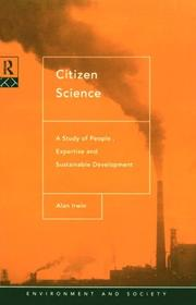 Cover of: Citizen science | Alan Irwin