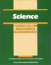 Cover of: Science Curriculum Resource Handbook