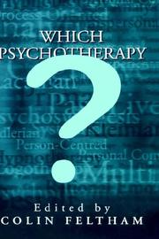Cover of: Which Psychotherapy?