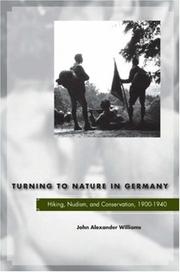 Cover of: Turning to Nature in Germany | John Williams
