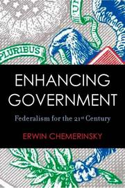 Cover of: Enhancing Government