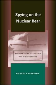 Cover of: Spying on the Nuclear Bear | Michael Goodman