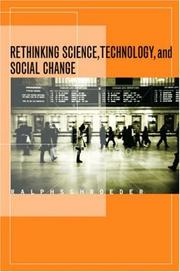 Cover of: Rethinking science, technology, and social change