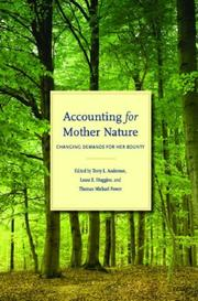 Cover of: Accounting for Mother Nature |