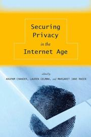 Cover of: Securing Privacy in the Internet Age |