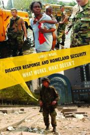 Cover of: Disaster Response and Homeland Security | James Miskel