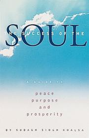 Cover of: The success of the soul