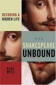 Cover of: Shakespeare Unbound