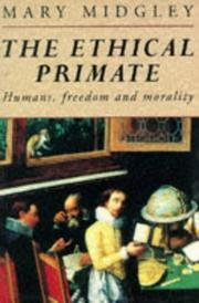 Cover of: The ethical primate