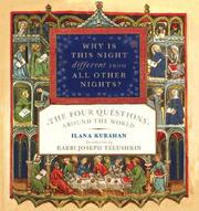 Cover of: Why Is This Night Different from All Other Nights? | Ilana Kurshan