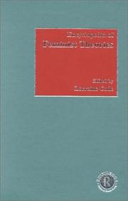 Cover of: Encyclopedia of Feminist Theories | Lorraine Code
