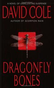 Cover of: Dragonfly bones | Cole, David