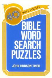 Cover of: Bible Word Search Puzzles
