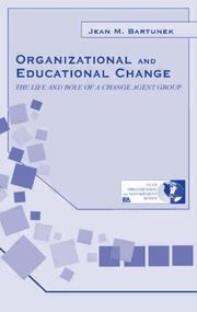 Cover of: Organizational and Educational Change