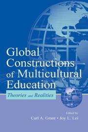 Cover of: Global Constructions of Multicultural Education |
