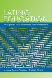 Cover of: Latino Education |
