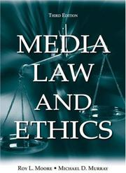 Cover of: Media Law and Ethics, Third Edition (Lea
