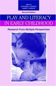 Play and Literacy in Early Childhood by