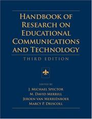 Cover of: Handbook of Research on Educational Communications and Technology (Aect) | Philip A. Harris