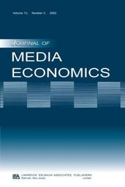 Cover of: The Economics of the Multichannel Video Program Distribution Industry | Michael O. Wirth
