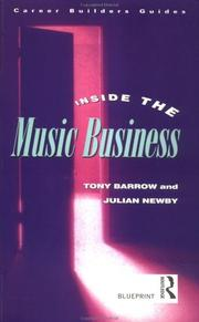 Inside the Music Business (Blueprint) by Tony Barrow