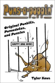Cover of: Puns-A-Poppin