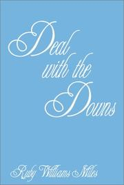 Cover of: Deal with the Downs | Miles.