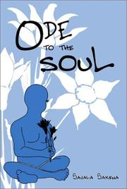 Cover of: Ode to the Soul | Sajala Saxena