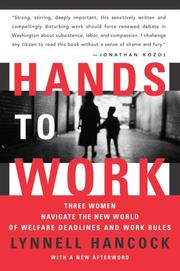 Cover of: Hands to Work | Lynnell Hancock