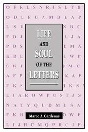 Cover of: Life and Soul of the Letters