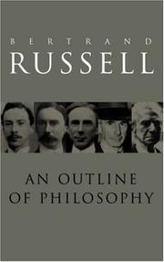 Cover of: An outline of philosophy