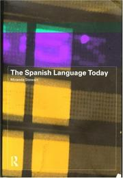 Cover of: The Spanish Language Today