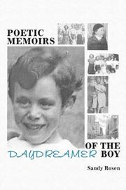 Cover of: Poetic Memoirs of the Daydreamer Boy | Sandy Rosen