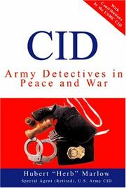 Cover of: CID | Hubert Marlow