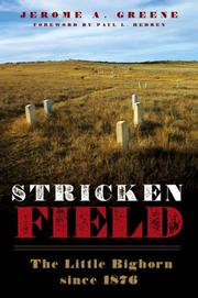 Cover of: Stricken Field | Jerome A. Greene