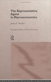 Cover of: The representative agent in macroeconomics