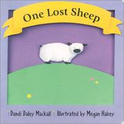 Cover of: One Lost Sheep (First Things First)