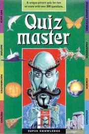 Cover of: Quiz Master | Inc. Sterling Publishing Co.