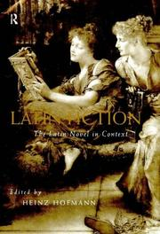 Cover of: Latin fiction |